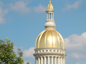NJ State House - the Golden Dome