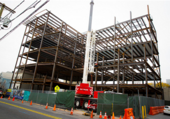 From Steel to Stem:  MAST Construction Services Celebrates Topping Out at HCCC