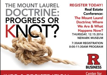 The Mount Laurel Doctrine:  Progress or Knot?